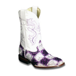 Purple-and-White-Crystal-Patchwork-Boots