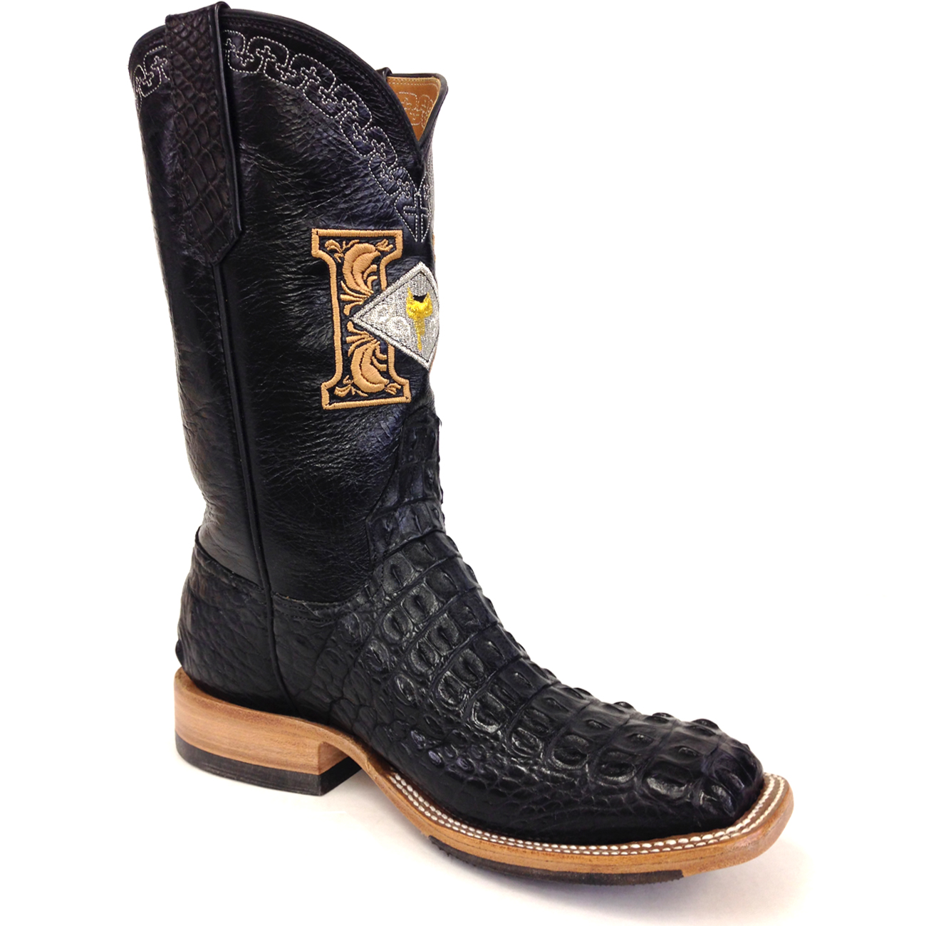 Black Crocodile Boots | Harris Leather & Silverworks | Legendary ...