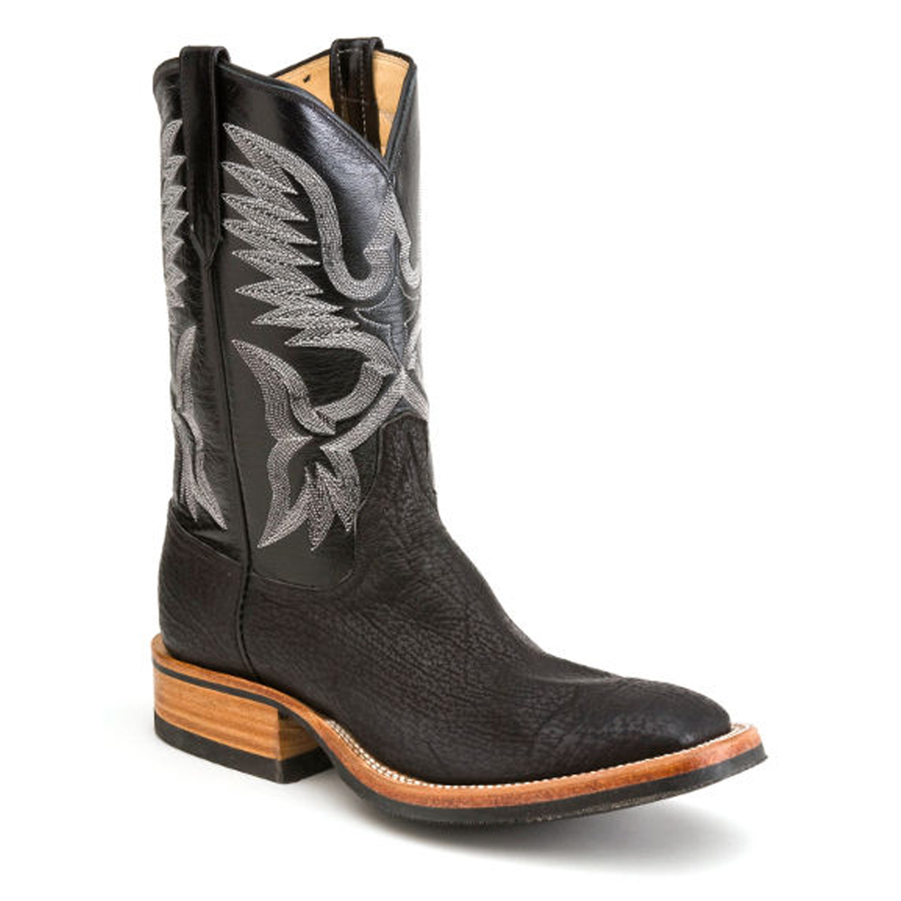 Black Shark Boots Harris Leather Amp Silverworks