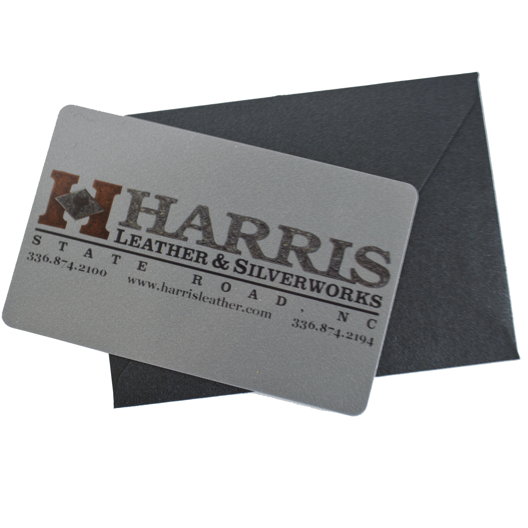 Harris Gift Cards | Harris Leather & Silverworks | Legendary ...