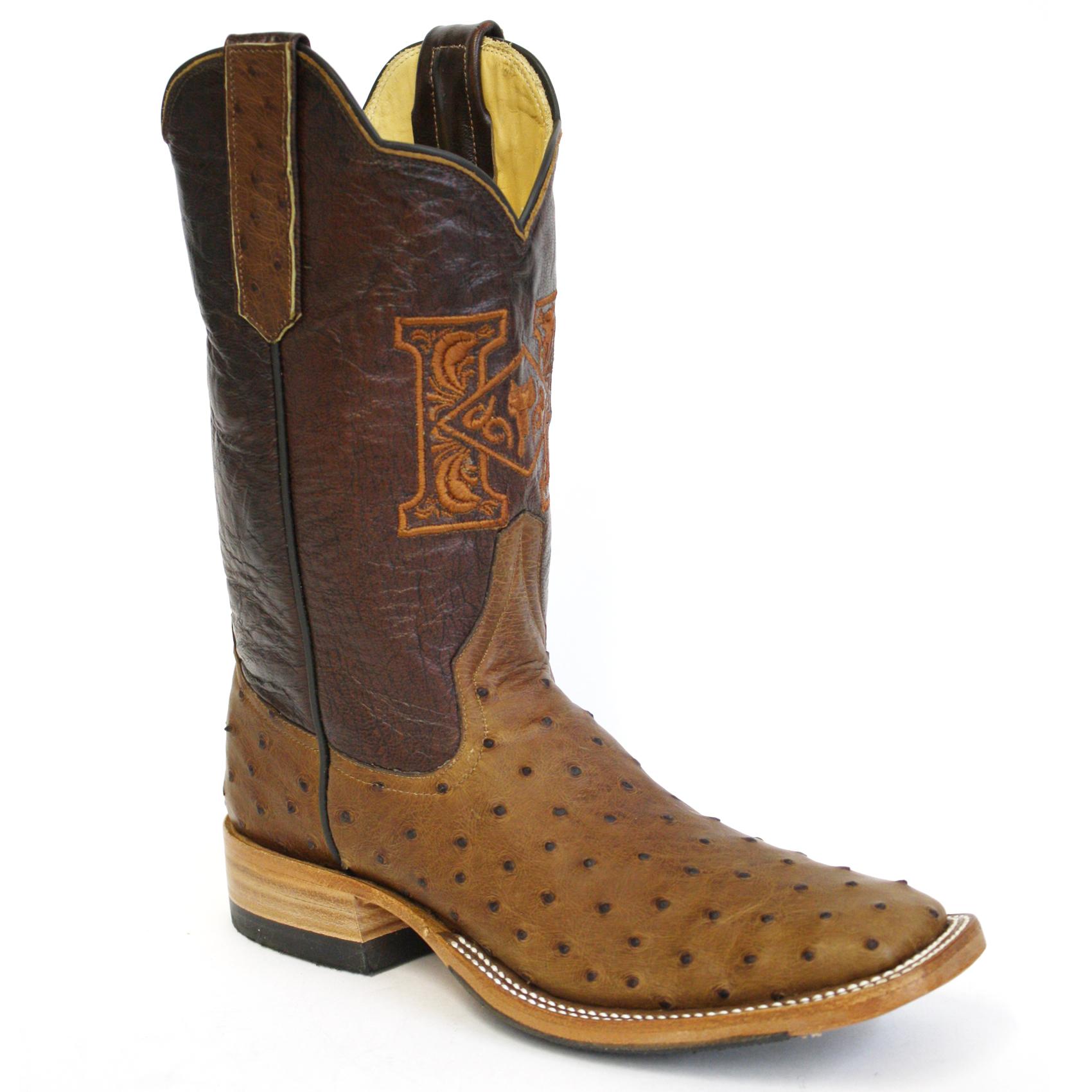 Kango Full Quill Ostrich Boots
