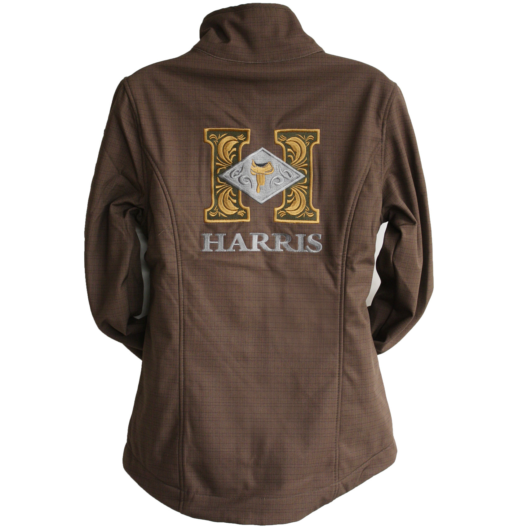 Cinch Brown Printed Bonded Jacket Harris Leather Amp Silverworks Legendary Handmade Saddles