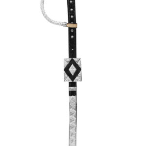 Bohlin Rectangle Headstall – Inlaid Ostrich