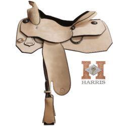 Roughout Work Saddle | Harris Leather & Silverworks | Legendary