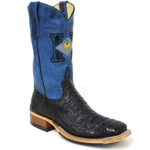 Black Hornback Caiman Boots