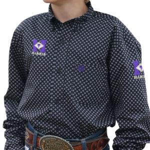 Cinch Boy's Show Shirts – Print 212