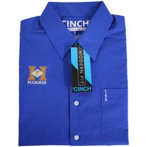 Cinch Show Shirt – Royal Blue 013